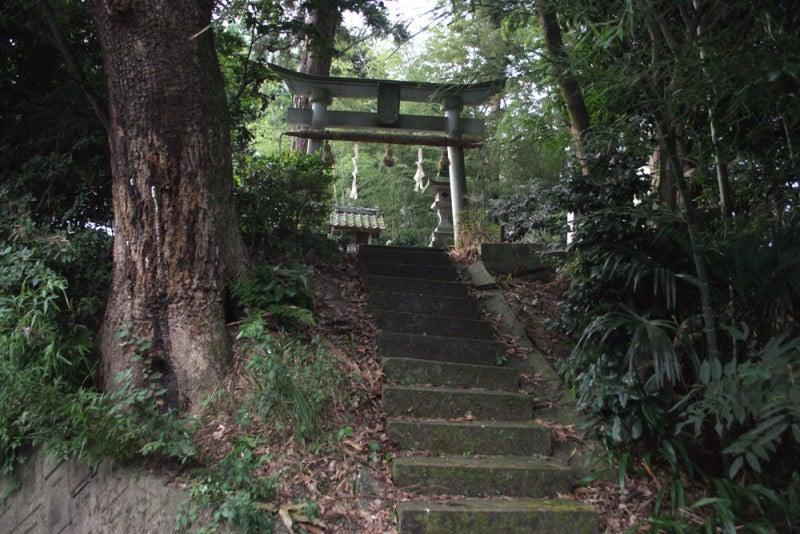 清水山城/01毘沙門神社の鳥居