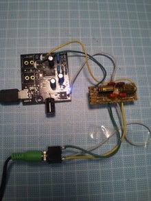 秋月USB-DACとローパスフィルタ