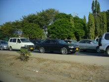 タンザニアの渋滞
