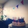 朝からバースデーケーキ♡の画像