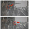 ▼唸声中国写真映像/歩きスマホで地下鉄ホームから転落の画像