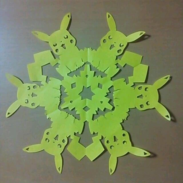 クリスマス 折り紙 折り紙 ピカチュウ : ameblo.jp
