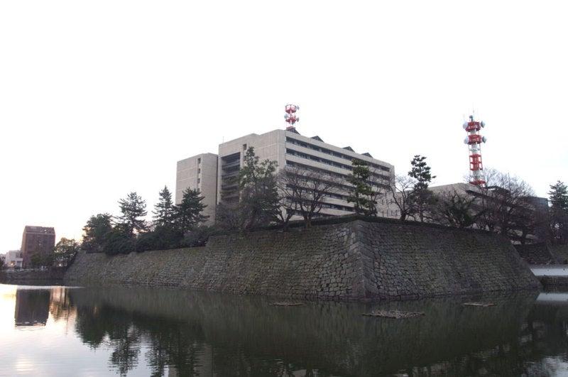 福井城/01内堀と石垣