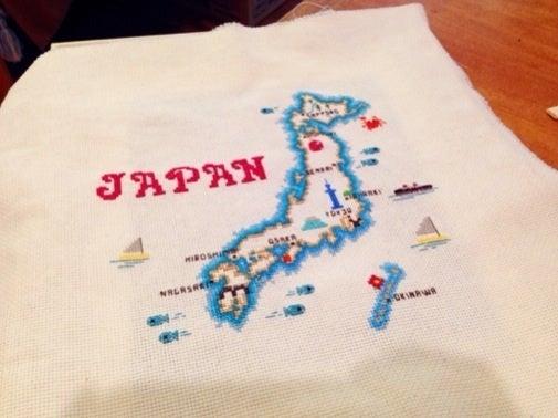 日本 クロス