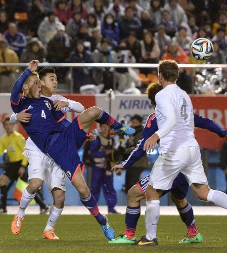 本田圭佑 サッカー日本代表 ニュージーランド戦 ワールドカップ