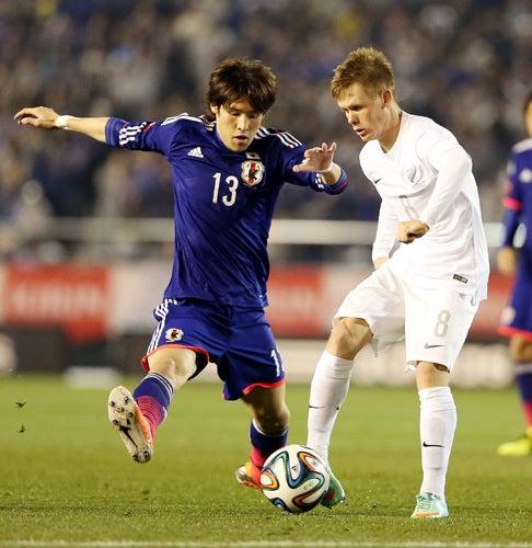 細貝萌 サッカー日本代表 ニュージーランド戦 ワールドカップ