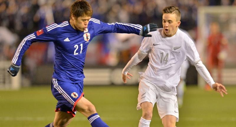 酒井宏樹 サッカー日本代表 ニュージーランド戦 ワールドカップ