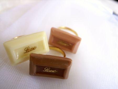 板チョコリング