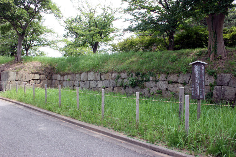小松城/04内堀の石垣