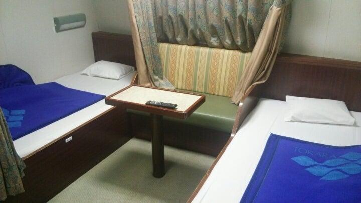 岐阜からアフリカ好きくんの154か国ブログ一等船室、快適でした。~フェリーとしまコメント