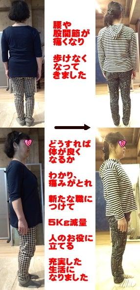 西東京市ひばりヶ丘駅の整体の腰痛で歩けなくなってきた方が歩けてダイエットにも