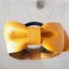 レザーリボンヘアゴム -ART BROWN Product-の画像