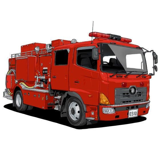 消防 車 イラスト 消防ポンプ車イラスト/無料イラストなら「イラストAC」