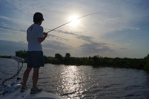 夢の舞台を再現!ドキドキ・ワクワク釣行 (ルイジアナ・デルタ)の記事より