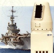IRST 赤外線捜索/追尾装置 艦艇...