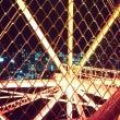 東京タワー夜景を見な…