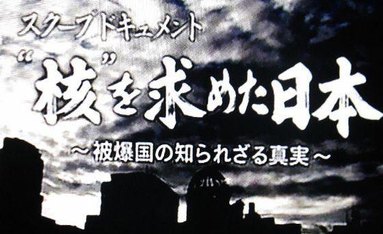 核を求めた日本