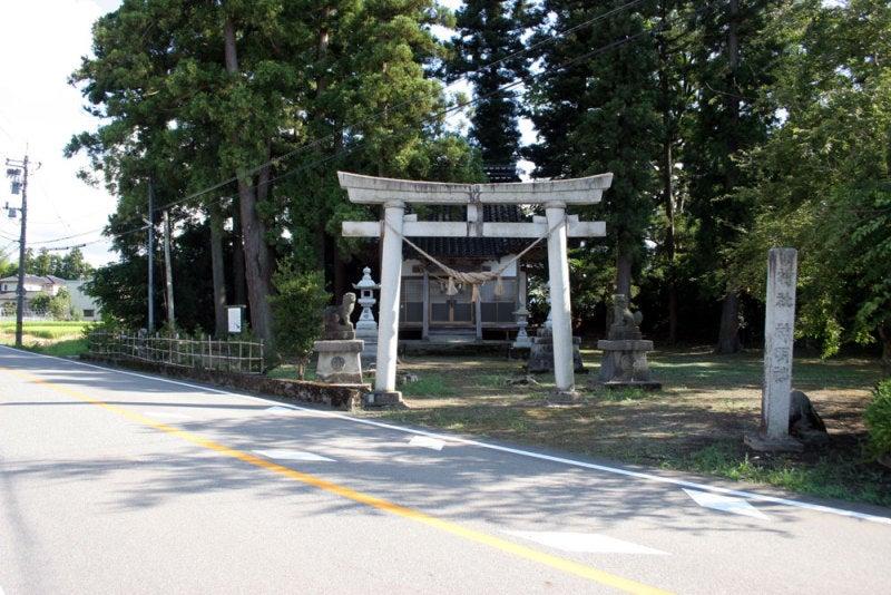 上熊野城/神明社