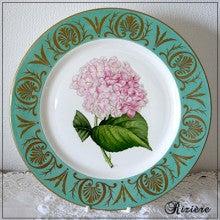 ポーセリンペインティング 絵皿