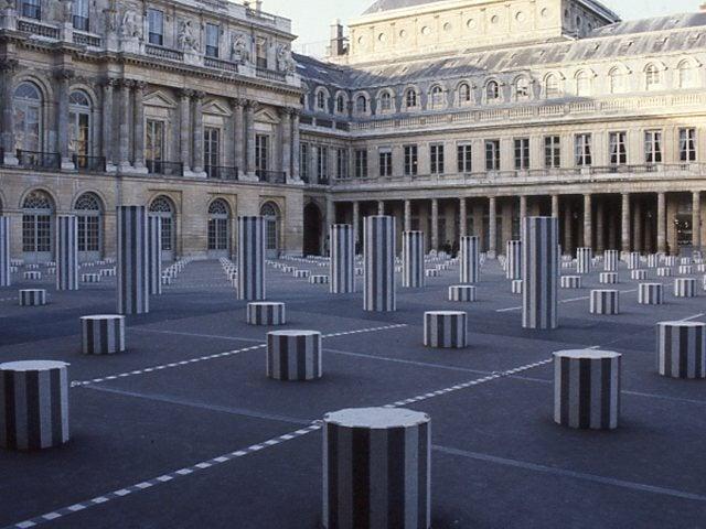 パレ・ロワイヤル中庭:パリ6 | ...