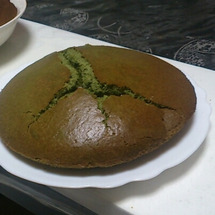 青汁シフォンケーキ!