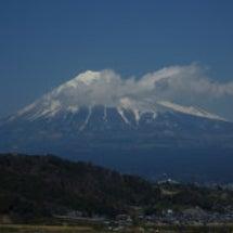 富士山 きれいやった…