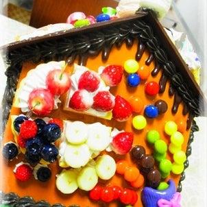 ☆検定作品お菓子の家♪の画像