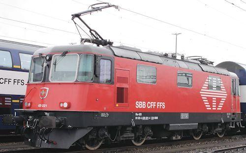 スイス国鉄Re450形電気機関車