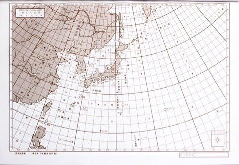 ラジオ用天気図用紙 no.2―NHKラジオ第2放送気象 …