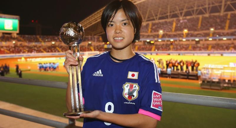 長谷川 唯 シルバーボール リトルなでしこ U-17女子W杯 ワールドカップ 初優勝 世界一