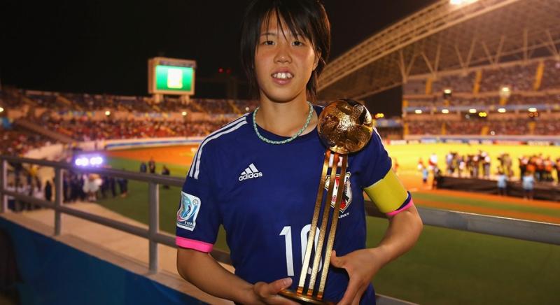 杉田 妃和 大会MVP ゴールデンボール リトルなでしこ U-17女子W杯 ワールドカップ 初優勝 世界一