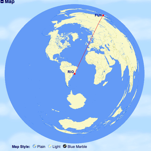 正 距 方位 図法 地理1-6 正距方位図法 解説 - 教科の学習
