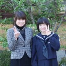 長女 中学校入学