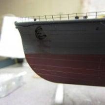 重巡「摩耶」塗装4