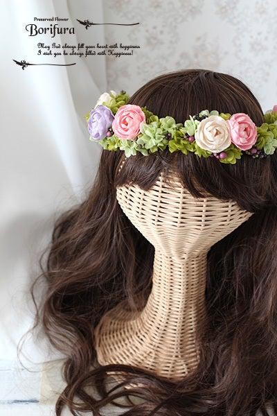 ヘアスタイル 髪型 花冠