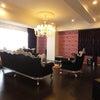 広島市マンションM様 輸入家具に囲まれたホテルライクカーテンの画像
