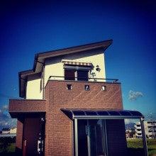 片流れ屋根の家 バルコニー