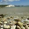 Brightonで拾った太陽と金星の石の画像