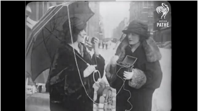 なんと1922年、世界で最初の携帯電話のビデオを発見!   世界メディア ...