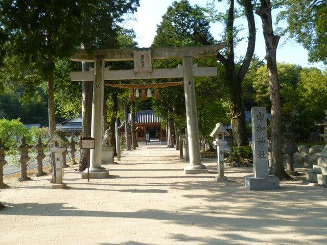 和気の由加神社(ゆがじんじゃ)~岡山県和気郡和気町大田原