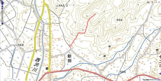 中山古城/地図