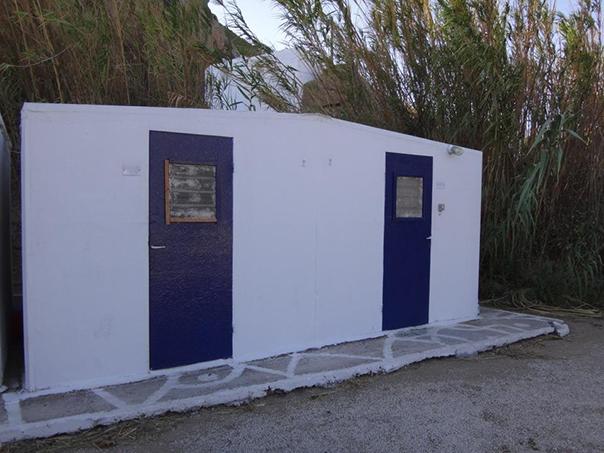 ミコノス島の宿