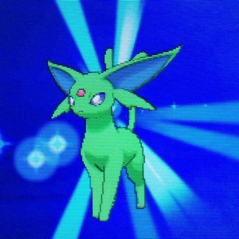 エーフィ 色 違い 緑になる色違いポケモンのガッカリ感は異常 -...