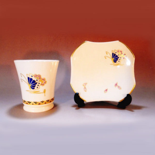 カップと銘々皿