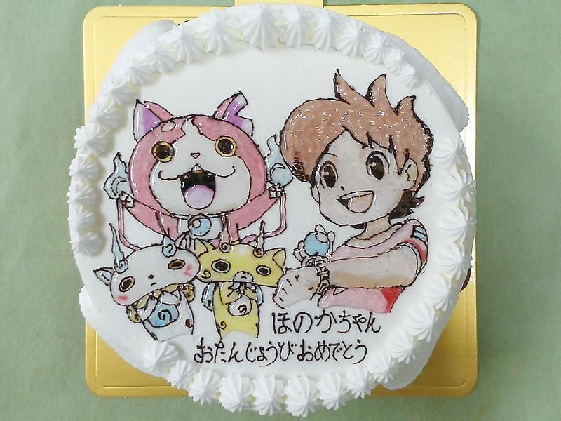 イラストキャラクターケーキです 岐阜市の洋菓子 パティスリー旬菓の