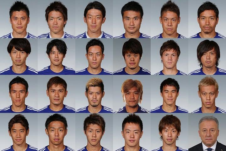 サッカー日本代表 ブラジルワールドカップ メンバー発表 W杯