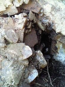 佐渡・方解石の晶洞(ガマ) | ...