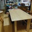 新しい食卓テーブルが…