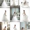 ドレス試着&メイク編♡韓国ウエディングフォトレポートの画像