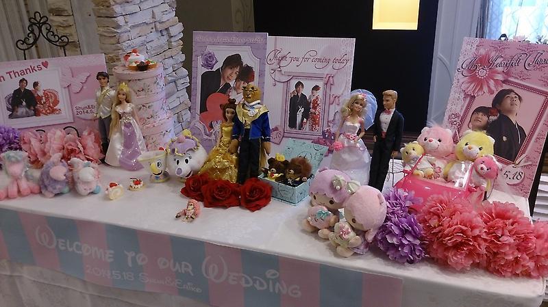 結婚式~ディズニープリンセス編☆